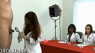 Sexy and medical exam leads to a handjob