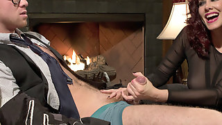 Maitresse Madeline Marlowe & Connor Maguire in Femdom Edging, Teasing And Prostate Milking Test Shoot - DivineBitches