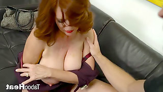 Andi James - mom instructs Me About fuckfest pt2 - Boys are Moms Stress Relief
