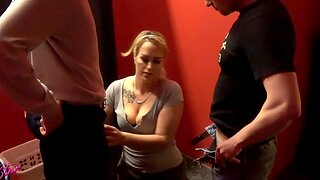German homemade threesome blowjob mmf with cum in mouth milf